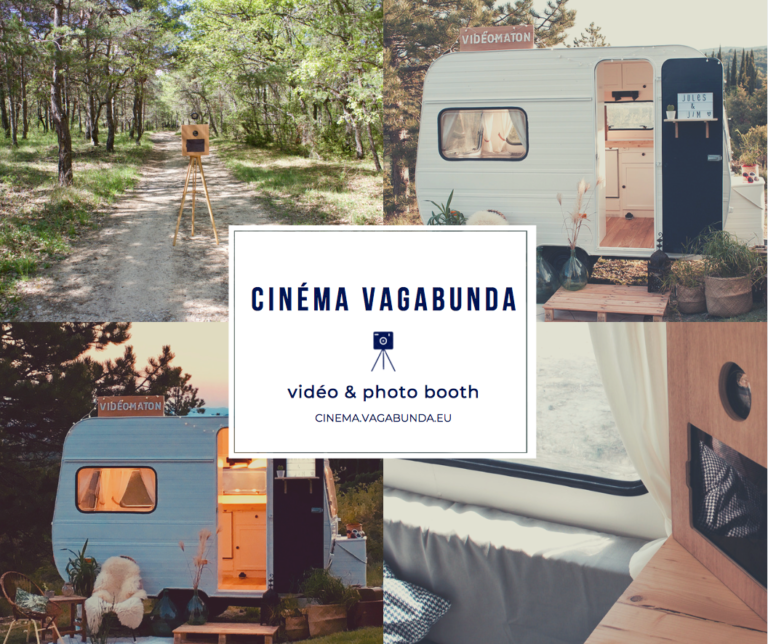 video booth & photobooth caravane retro cinema vagabunda