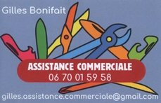 Gilles assistance commerciale